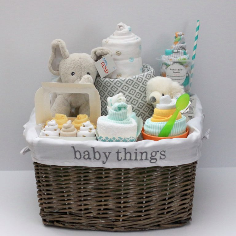 Inexpensive Baby Gift Basket Ideas